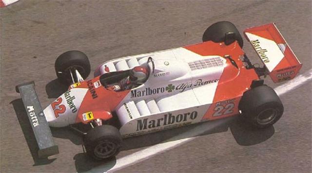 Mario Andretti com a Alfa Romeo na temporada de 1981 da F1