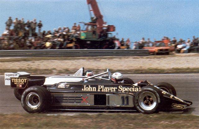 Imagem do capacete de Elio de Angelis na Lotus preta se tornou um ícone