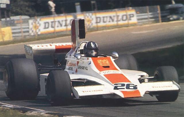 Bicampeão, Graham Hill terminou a carreira com sua equipe própria