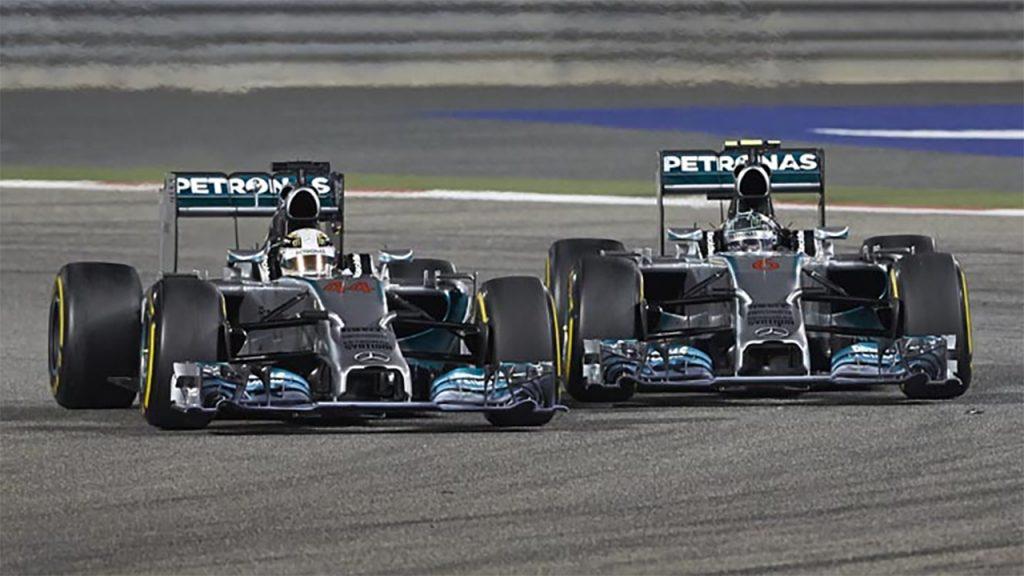 Hamilton e Rosberg travaram confrontos diretos nas pistas e fora delas