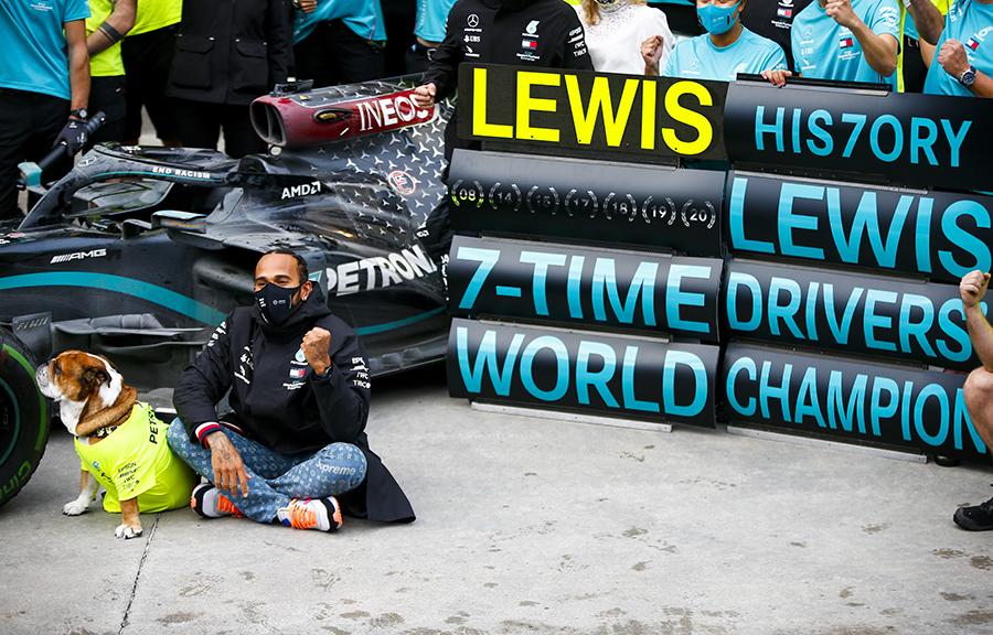 Imagem sobre Lewis Hamilton: de promessa do kart a recordista da F1