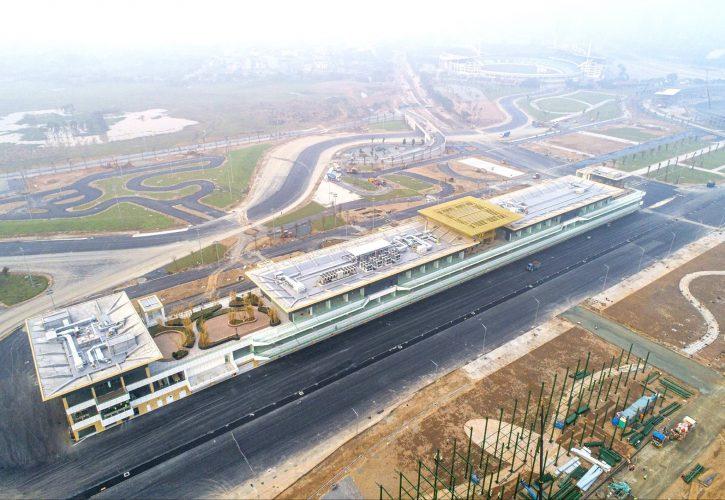 Obras do circuito de Hanói de F1 em fase final em janeiro de 2020