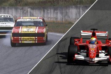 Ingo Hoffmann e Felipe Massa foram nomes marcantes da história da pista de Interlagos