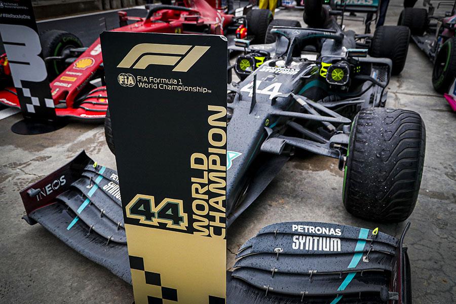 Heptacampeonato de Hamilton veio no GP da Turquia de 2020