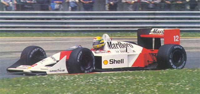 Murray foi um dos responsáveis pelo desenho da icônica McLaren MP4-4 que levou Senna ao seu primeiro título mundial, em 1988