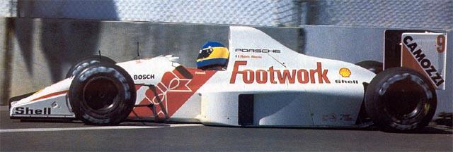 Projeto solo da Porsche na F1 em 1991 foi um desastre