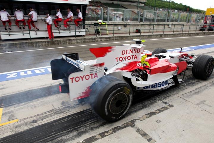 Toyota investiu muito dinheiro, mas coletou poucos resultados na F1