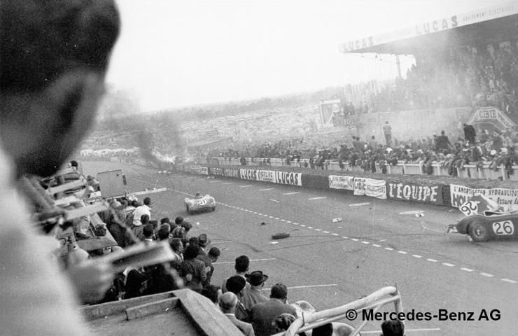 mercedes Le Mans 1955
