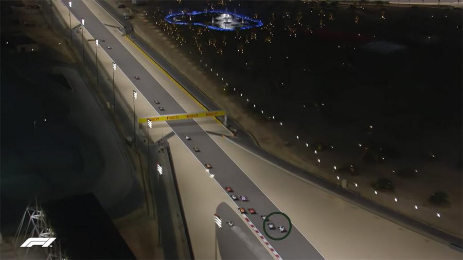 Acidente Grosjean no Bahrein