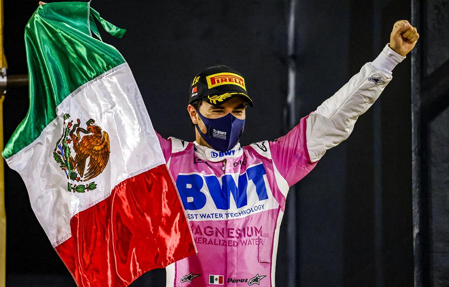 Imagem sobre De último para primeiro: a incrível vitória de Pérez no Sakhir
