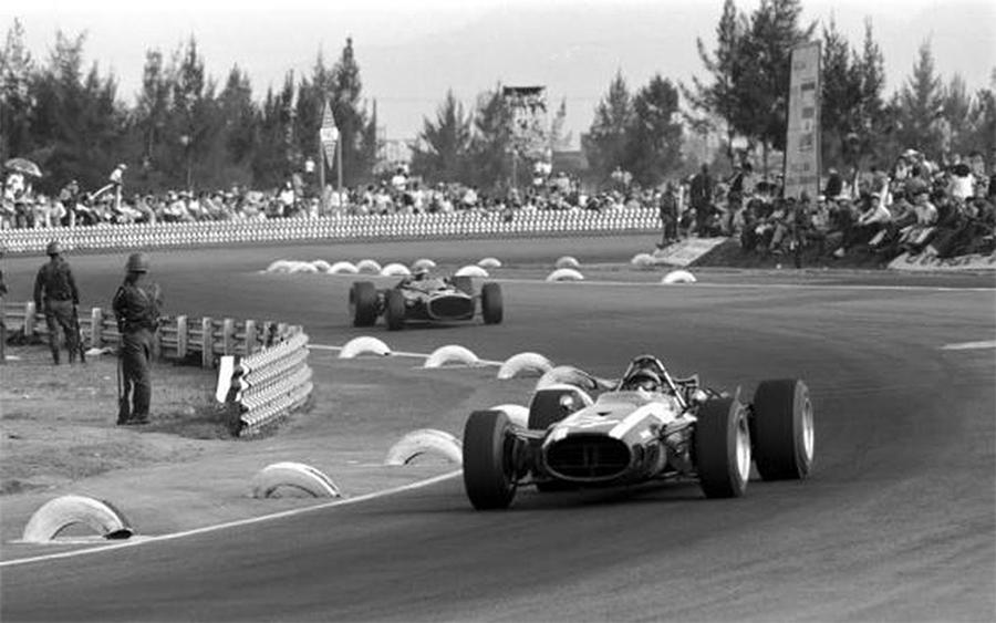 Pedro Rodríquez, no GP do México de 1967
