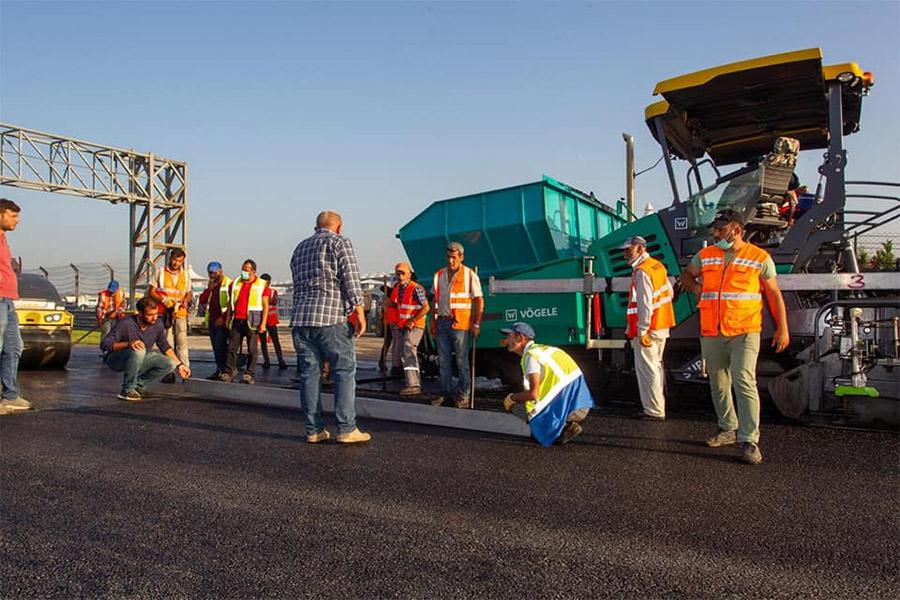 Trabalho de recapeamento da pista de Istambul para receber a F1 em 2020