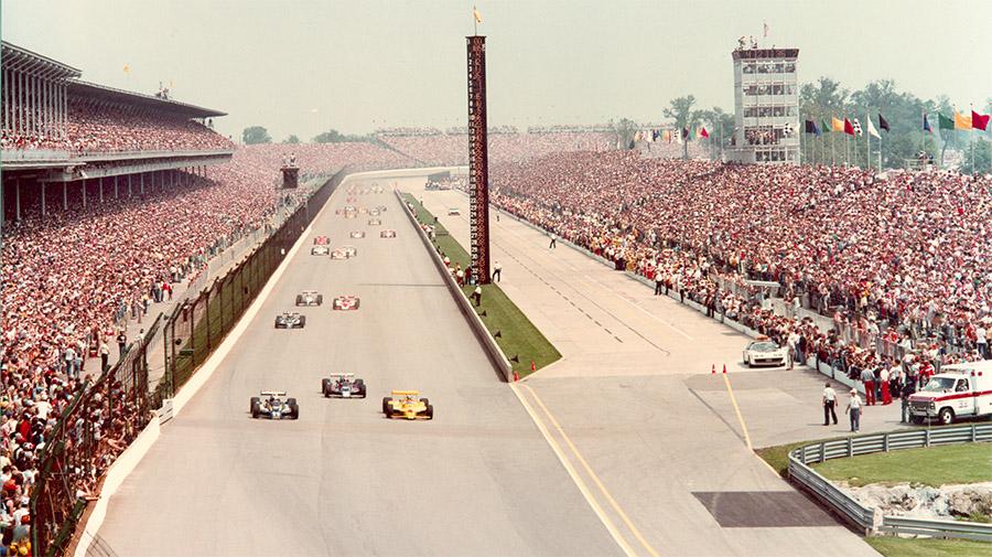 Largada das 500 Milhas de Indianápolis de 1980, em meio às brigas políticas da Indy