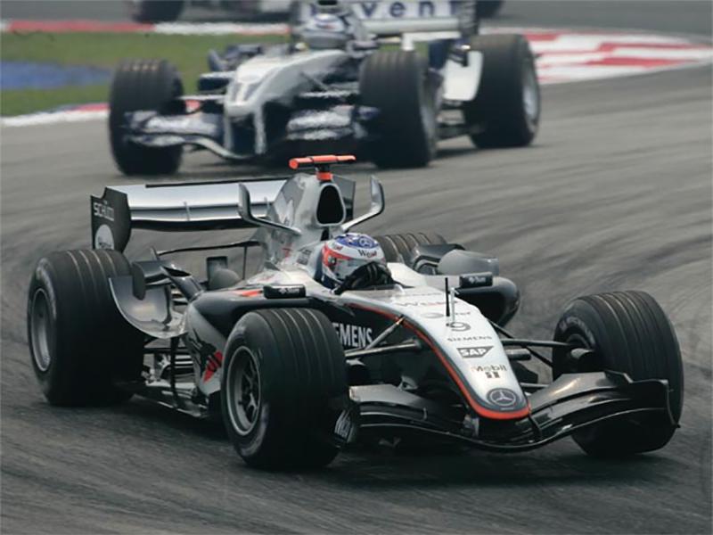 Kimi Raikkonen foi o protagonista da McLaren-Mercedes em 2005 (Foto: McLaren)