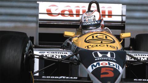 Imagem sobre 1986, a temporada que definiu uma geração #3: Nigel Mansell