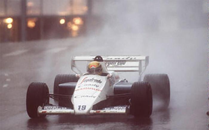 O famoso segundo lugar de Senna com a Toleman no GP de Mônaco de 1984 foi o melhor resultado da história da Hart na F1