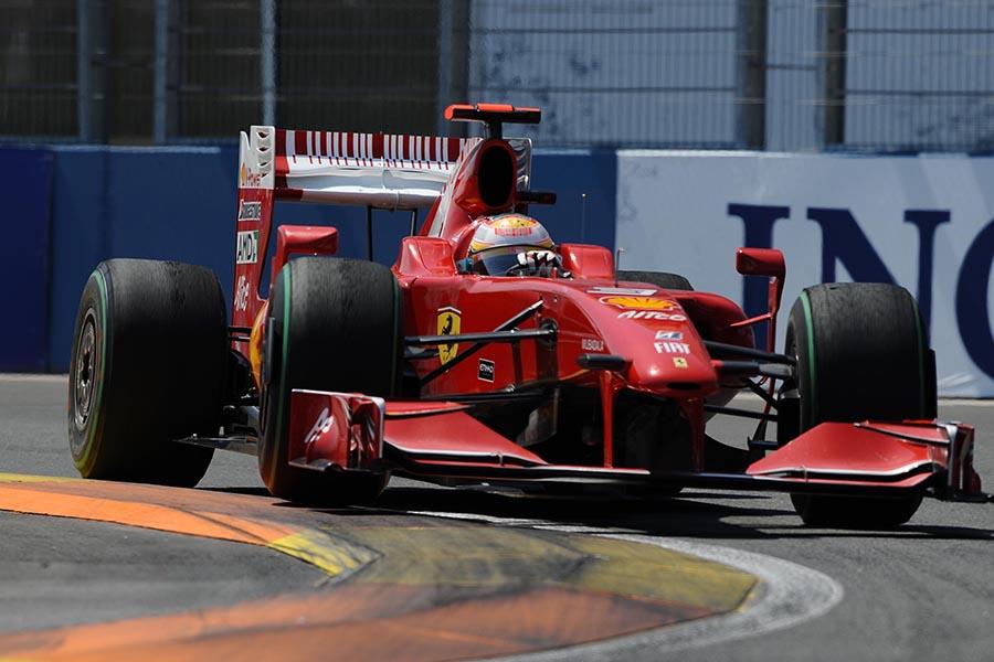 Estreia de Badoer pela Ferrari foi complicada em Valência