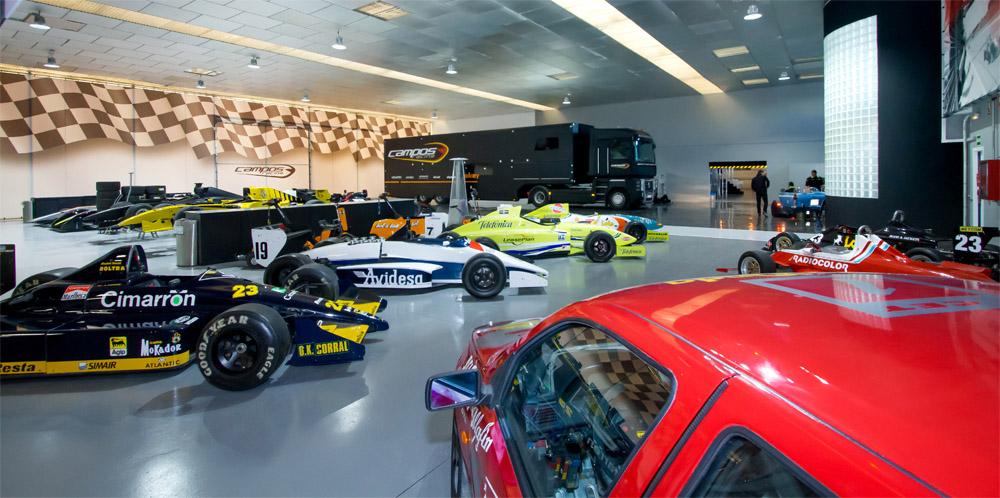 Museu da equipe Campos em sua sede é aberto ao público