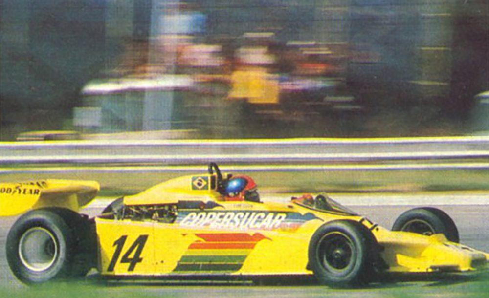 Modelo F5A da Copersucar Fittipaldi conquistou resultado histórico em Jacarepaguá