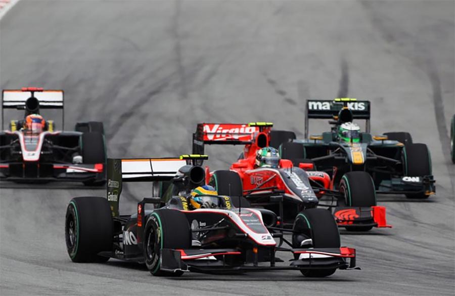 Em 2010, HRT, Virgin e Lotus estrearam na F1 após um verdadeira guerra