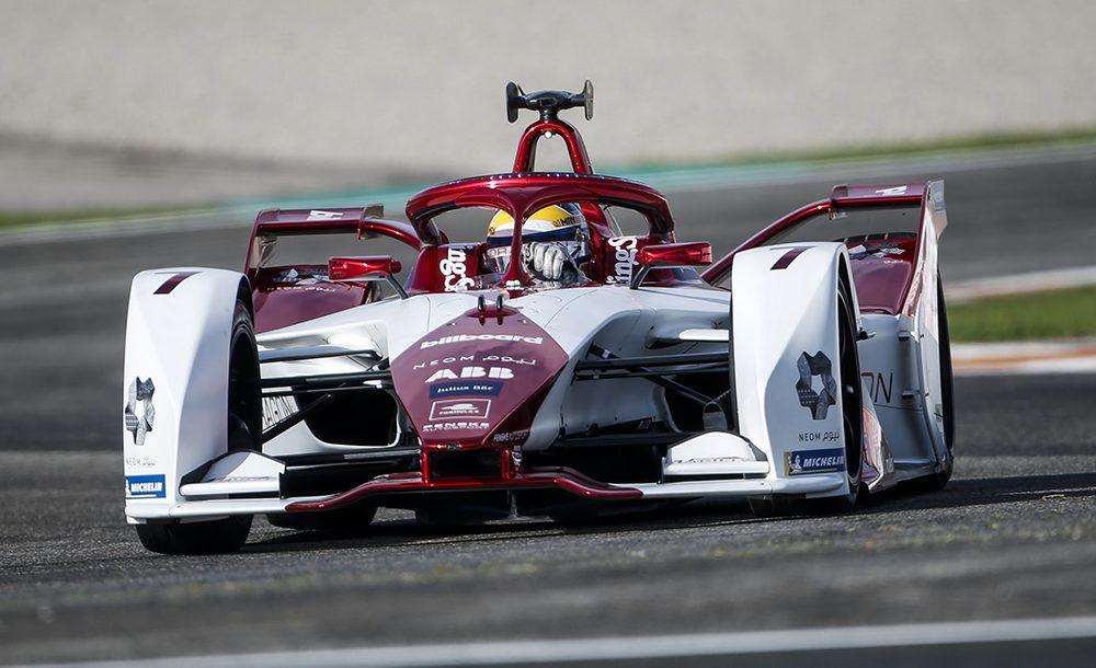 Sérgio Sette Câmara na pré-temporada da Fórmula E