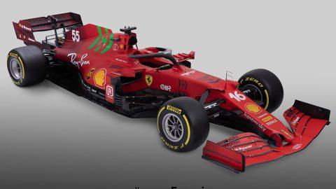 Imagem sobre Modelos F1 2021 – Ferrari apresenta SF21 com novidades na pintura e design