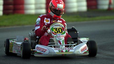 Imagem sobre O dia em que Schumacher bateu Hamilton no Mundial de Kart