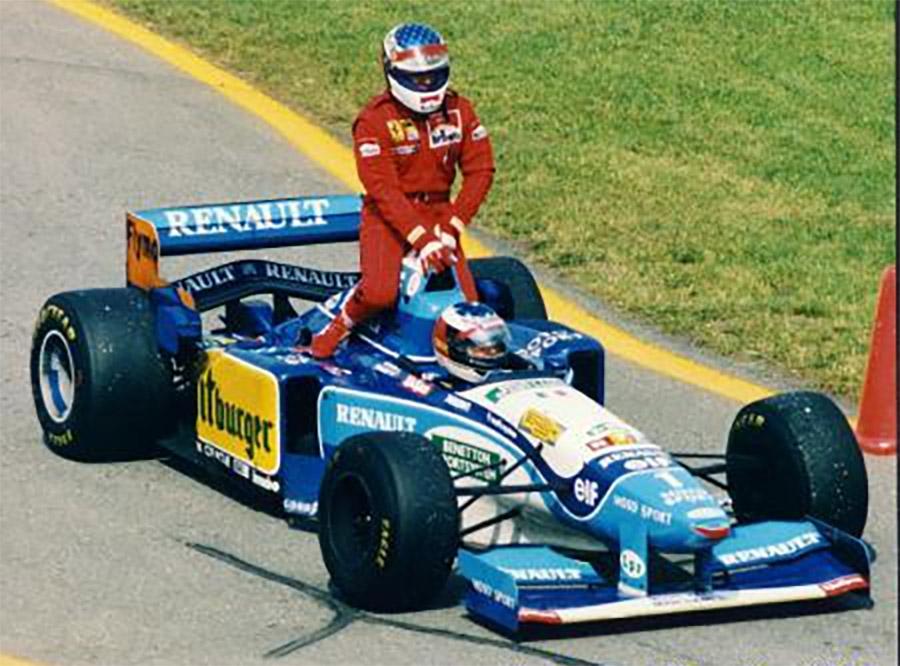 A espera de Jean Alesi na F1 terminou no GP do Canadá de 1995