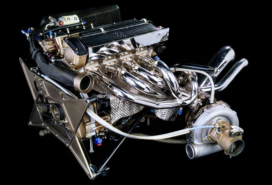 Motor M12/13 entrou para a história da F1. Hoje pode ser visto no museu da BMW, em Munique
