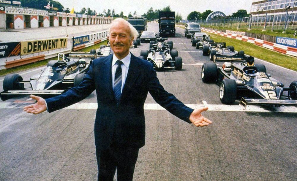 Colin Chapman foi um dos maiores gênios da história da F1