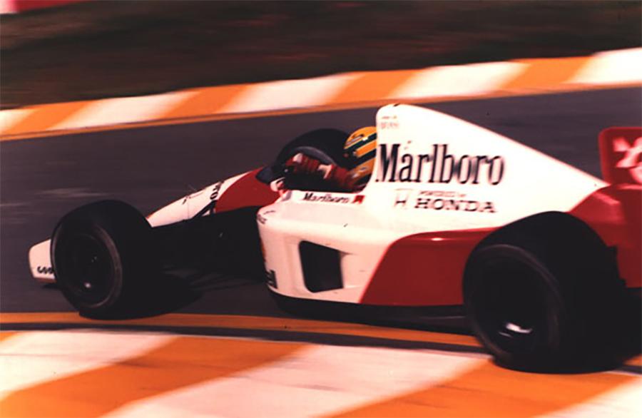Senna finalmente venceu seu 1º GP do Brasil em 1991 após drama nas voltas finais