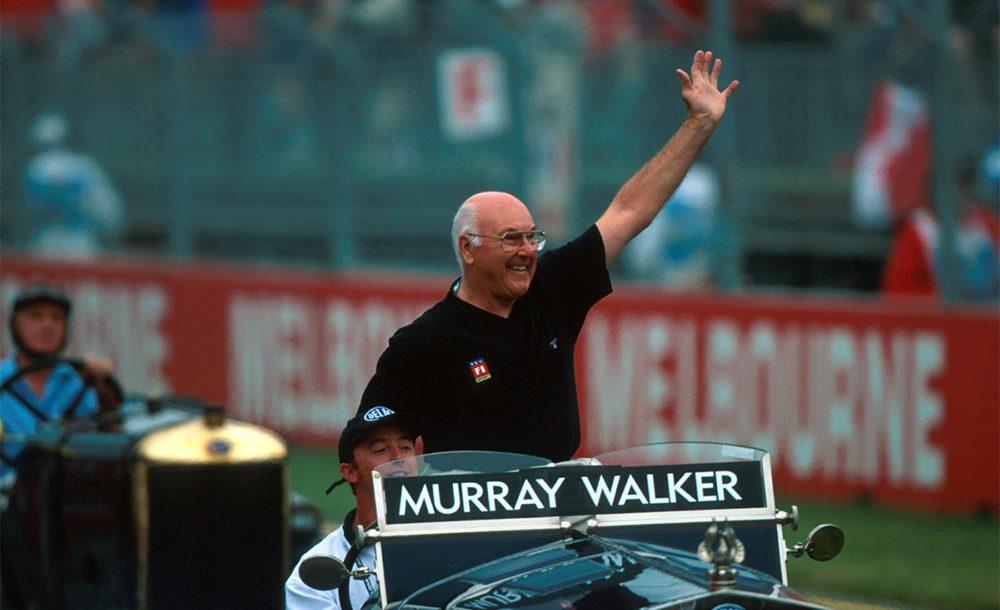 Murray Walker se tornou com o tempo um ícone das narrações da F1