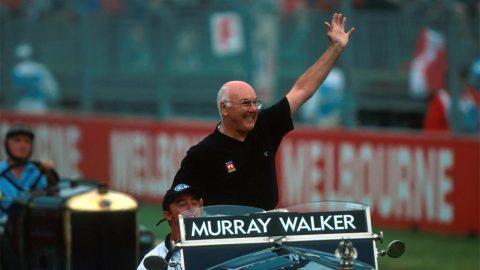 Imagem sobre Como Murray Walker se tornou a voz da F1 na Inglaterra