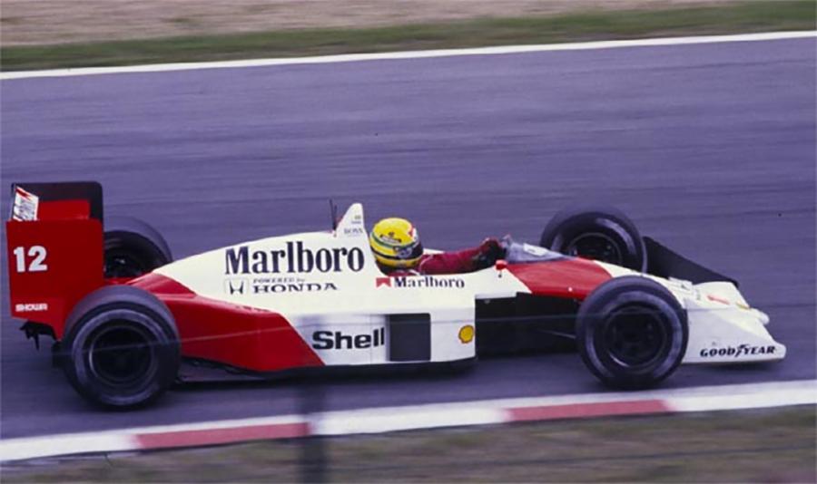 As voltas voadoras ao final da classificação de uma hora se tornaram uma marca registrada de Ayrton Senna nos anos 80 e começo dos 90