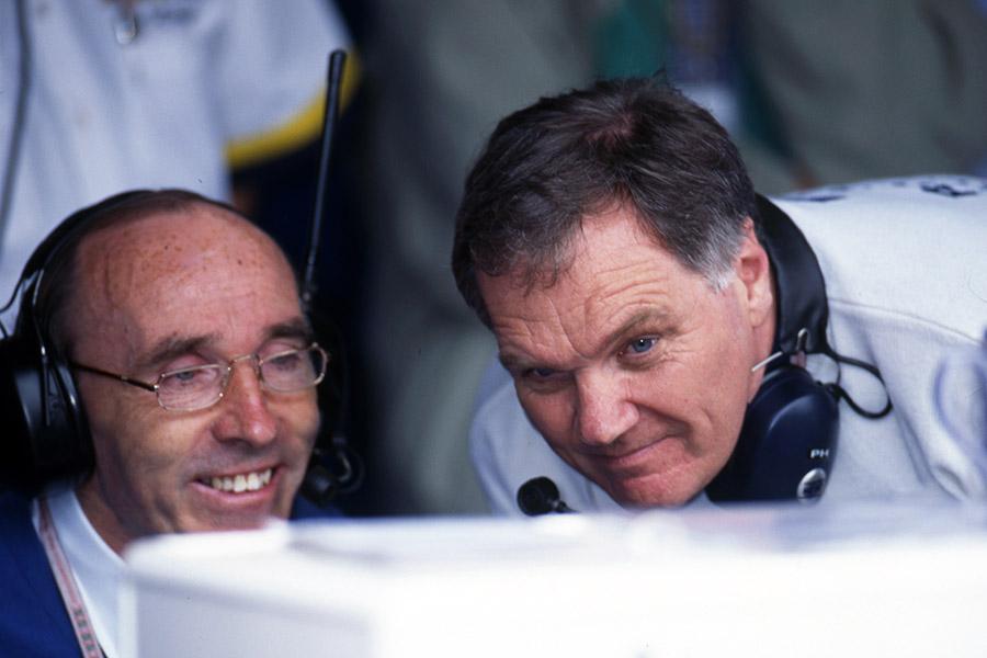 Frank Williams e Patrock Head: uma das grandes parcerias da história da F1