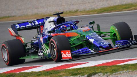 Imagem sobre Flow-vis: para que serve esta tinta verde nos carros de F1?