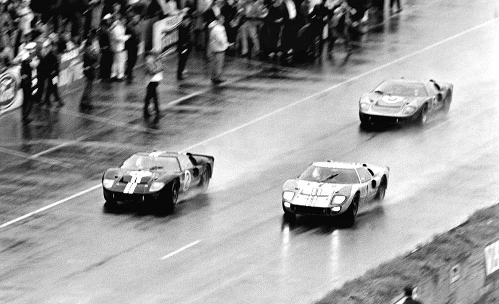 Ford dominou as 24 Horas de Le Mans de 1966