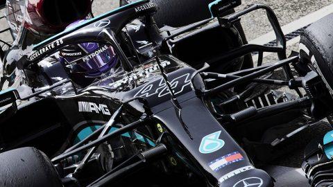 Imagem sobre Como o domínio de Hamilton na Mercedes subverteu uma lei matemática