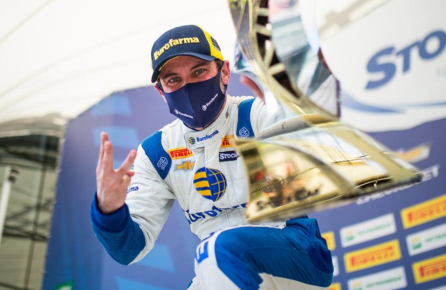 Dono de três títulos da Stock Car, Ricardo Maurício é o atual campeão
