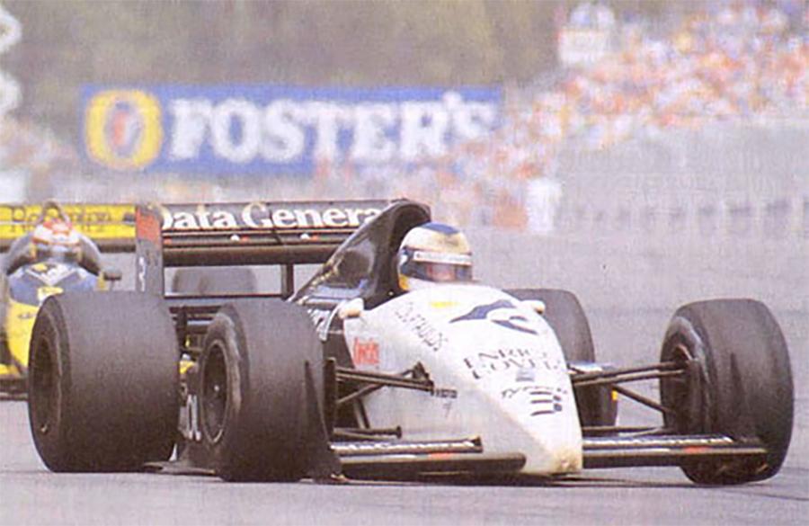 Tyrrell conquistou o Troféu Chapman de 1987