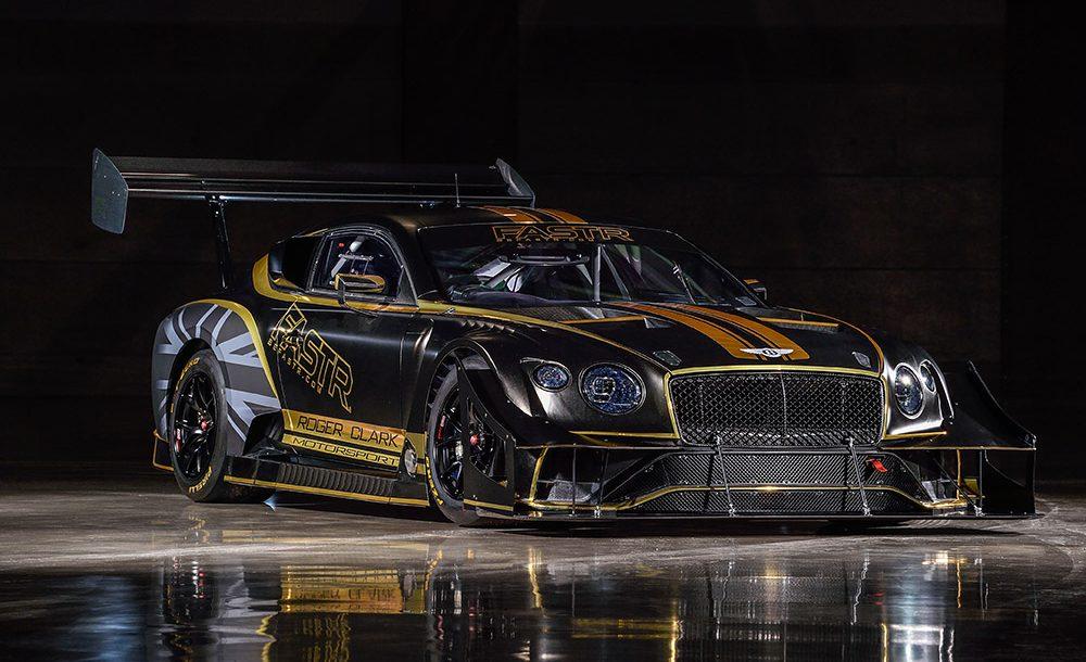 Bentley está preparando seu Continental GT3 para Pikes Peak