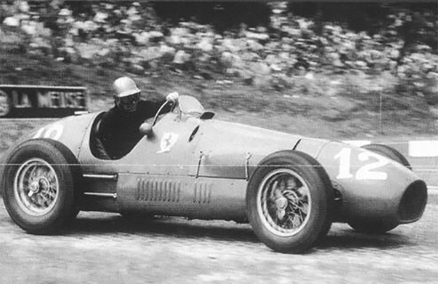 Ferrari 500 acabou entrando para a história da F1 por ser um F2 vencedor no Mundial