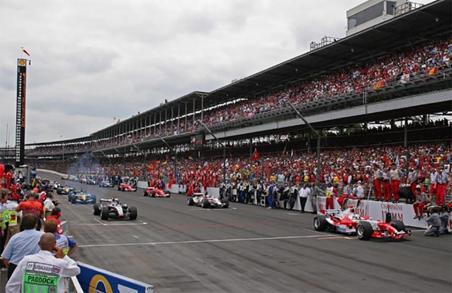 Trulli largaria na pole do GP dos EUA de 2005, mas abandonou antes da largada