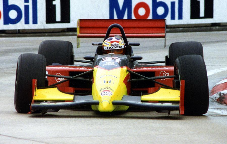 André Ribeiro foi um dos nomes importantes do Brasil na Indy nos anos 90