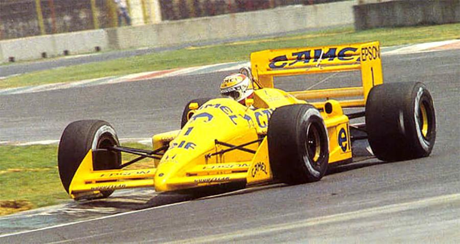 Nelson Piquet ostentou o número 1 na Lotus em 1988