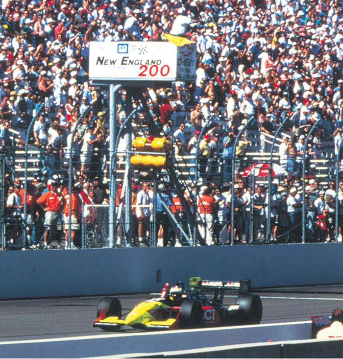 André Ribeiro foi responsável pela primeira vitória da Honda na Indy