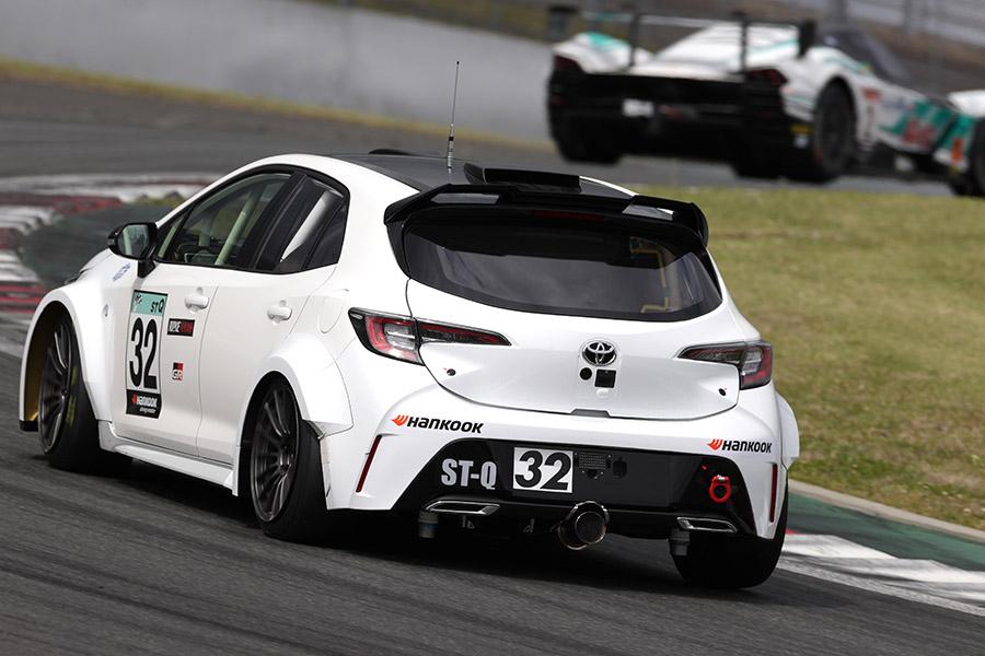 Testes da Toyota com motor a hidrogênio para as 24 Horas de Fuji