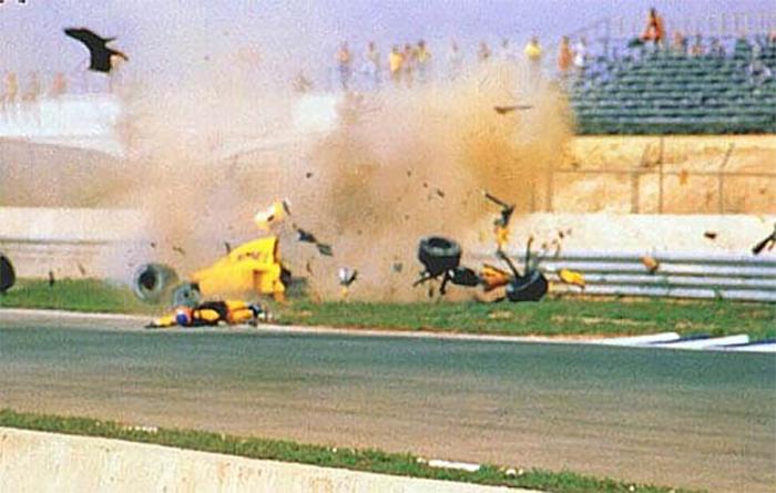 Acidente de Donnelly em Jerez assustou a todos