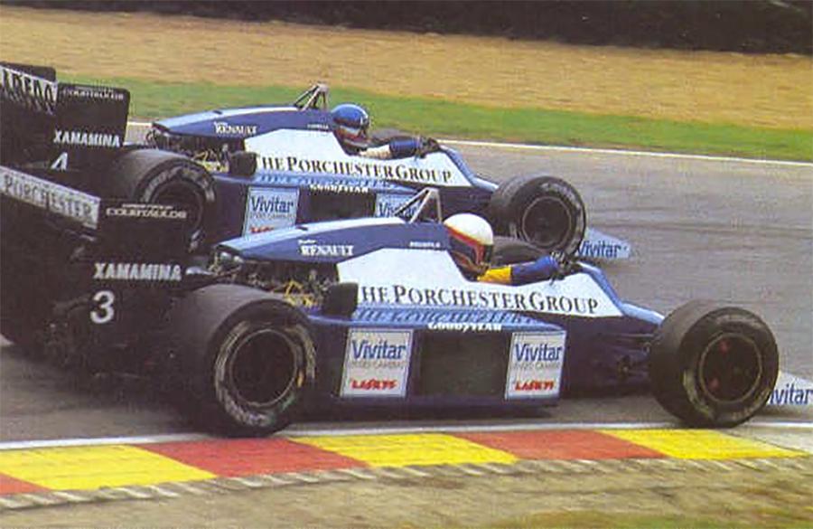 Carros da Tyrrell com motor Renault