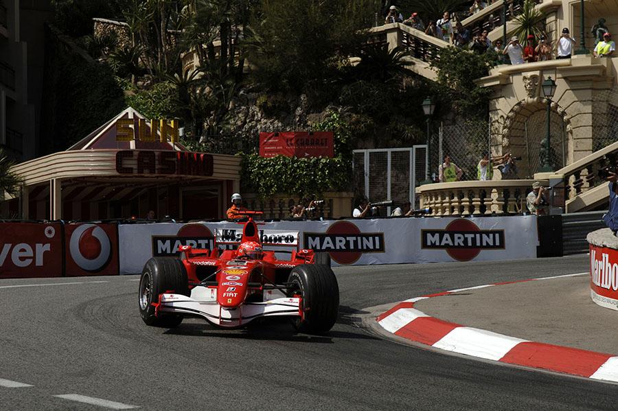 Schumacher, no GP de Mônaco de 2006